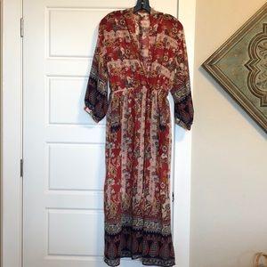 Kimono or Sheer Dress